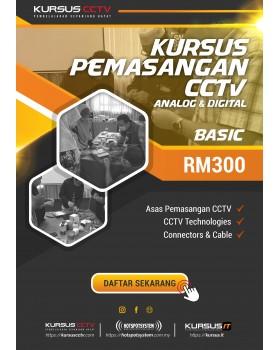 Asas  Pemasangan CCTV (Sehari)